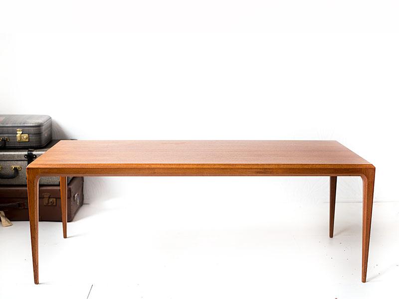 Vintage Johannes Andersen coffee table teak (sold) - Vintage Furniture ...
