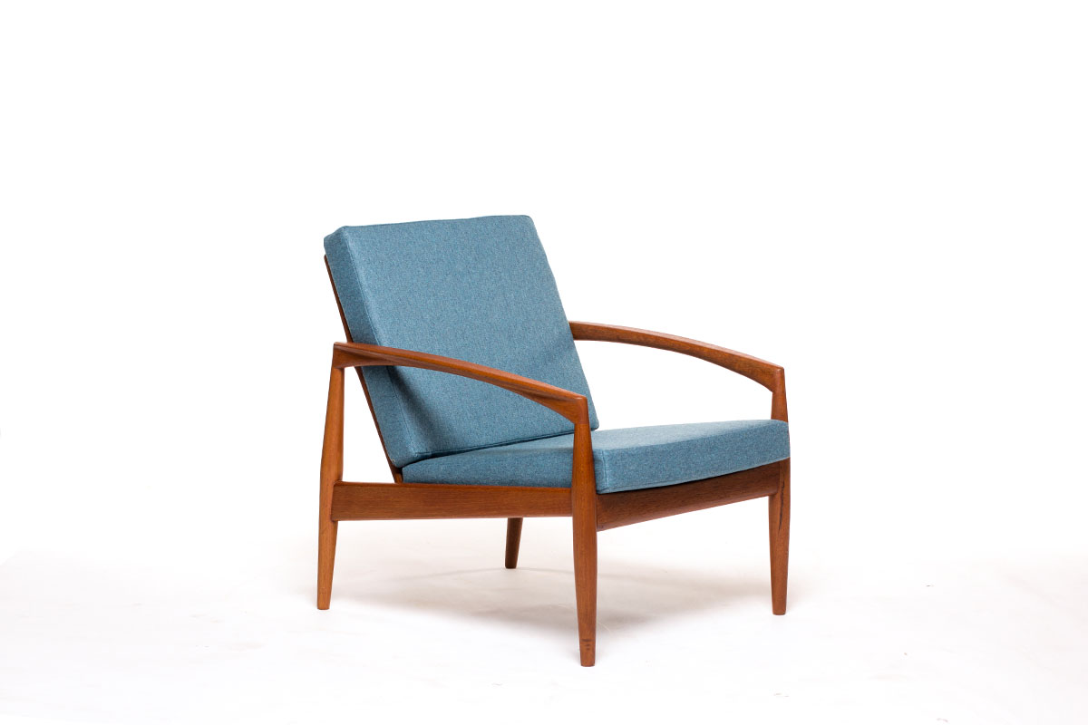 Kai Kristiansen Quot Paper Knife Quot Chair Vintage Furniture Base